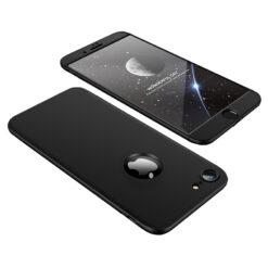 iPhone 8 360 plastikust ümbris must
