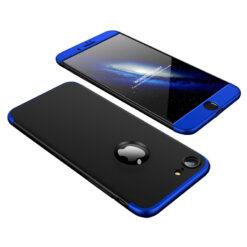 iPhone 8 360 plastikust must sinine