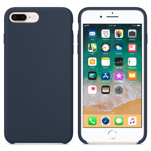 iPhone 8 Plus silikoonist ümbris sinist värvi 2