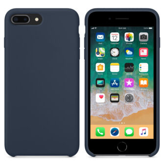 iPhone 8 Plus silikoonist ümbris sinist värvi 3