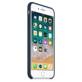 iPhone 8 Plus silikoonist ümbris sinist värvi 4