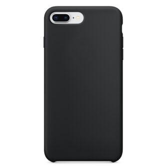 iPhone 8 Plus silikoonist kaaned musta värvi