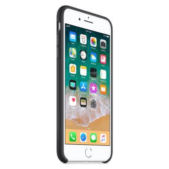 iPhone 8 Plus silikoonist kaaned musta värvi eest