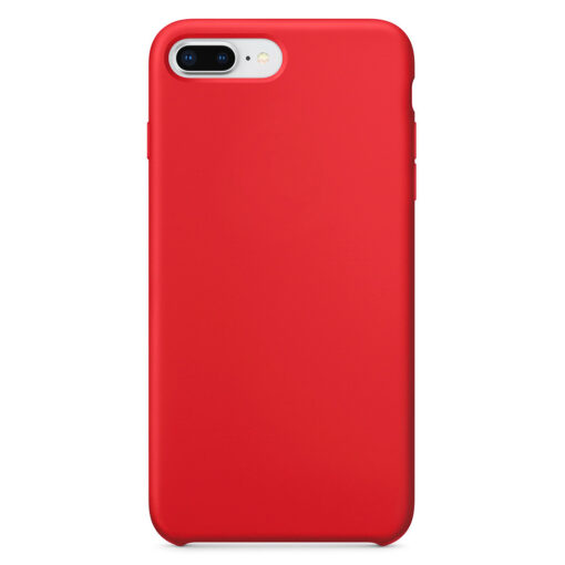 iPhone 8 Plus silikoonist kaaned punast värvi