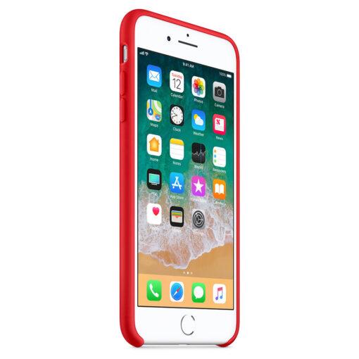 iPhone 8 Plus silikoonist kaaned punast värvi eest