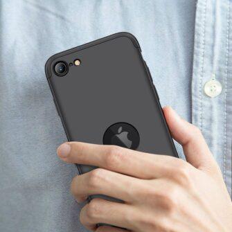 iPhone SE 2 360 kaaned plastikust musta värvi 1