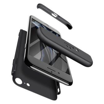 iPhone SE 2 360 kaaned plastikust musta värvi 5
