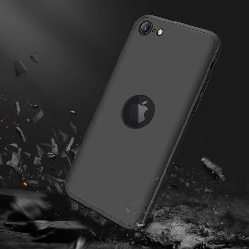 iPhone SE 2 360 kaaned plastikust musta värvi 6