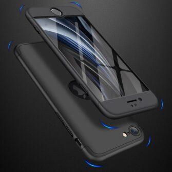 iPhone SE 2 360 kaaned plastikust musta värvi 7
