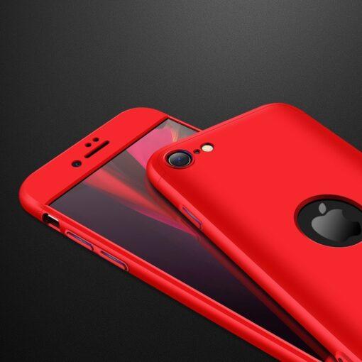 iPhone SE 2 360 kaaned plastikust punane 3