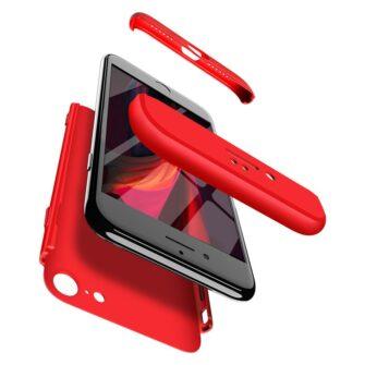 iPhone SE 2 360 kaaned plastikust punane 4
