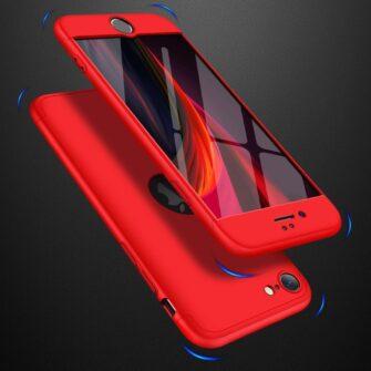 iPhone SE 2 360 kaaned plastikust punane 5