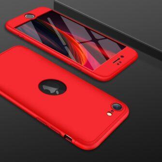 iPhone SE 2 360 kaaned plastikust punane 6