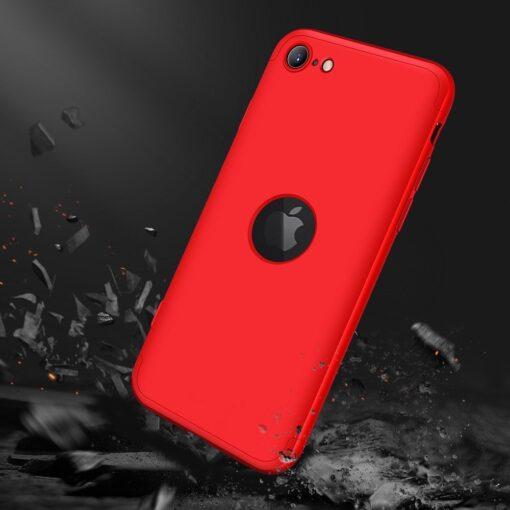 iPhone SE 2 360 kaaned plastikust punane 7