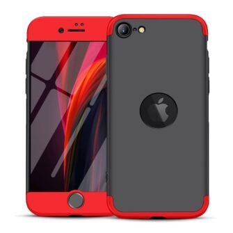 iPhone SE 2 360 kaaned plastikust punane-must