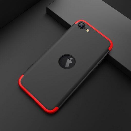 iPhone SE 2 360 kaaned plastikust punane must 10