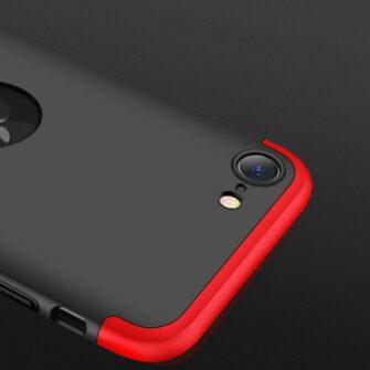 iPhone SE 2 360 kaaned plastikust punane must 12