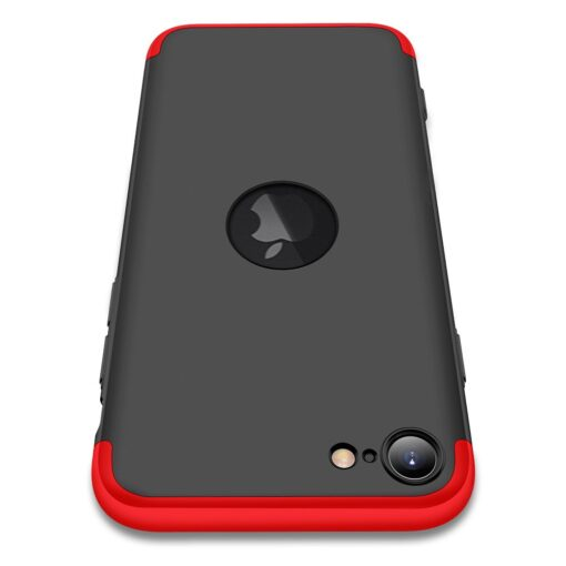 iPhone SE 2 360 kaaned plastikust punane must 2