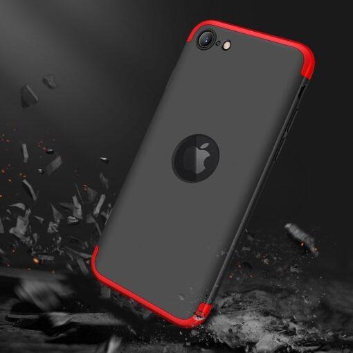 iPhone SE 2 360 kaaned plastikust punane must 6