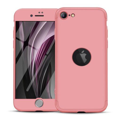 iPhone SE 2 360 kaaned plastikust roosa