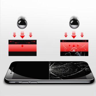 iPhone SE 2 privaatsusfiltriga kaitseklaas iphone 7 ja iphone 8 valge 13