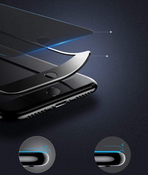 iPhone SE 2 privaatsusfiltriga kaitseklaas iphone 7 ja iphone 8 valge 9