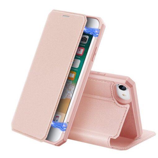 iPhone SE 2020 iPhone 8 iPhone 7 kaaned Skin X DUX DUCIS roosa 1