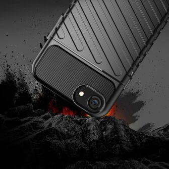iPhone SE 2020 iPhone 8 ja iPhone 7 tugev silikoonist ümbris must 4