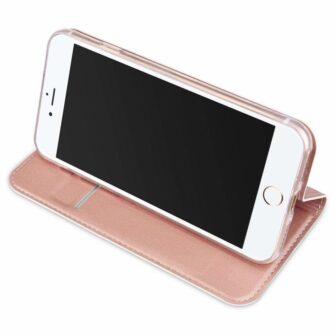 iPhone SE 2020 kaaned nahast iPhone 7 ja iPhone 8le roosa rosegold 3