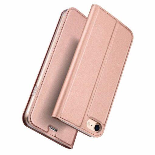 iPhone SE 2020 kaaned nahast iPhone 7 ja iPhone 8le roosa rosegold 5