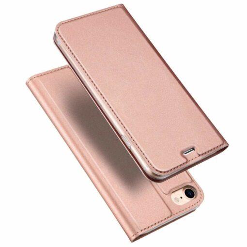 iPhone SE 2020 7 ja 8 kaaned nahast roosat värvi