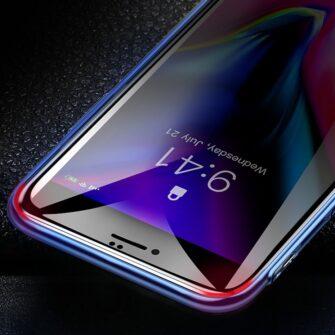 iPhone SE 2020 kaitseklaas privaatsusfiltriga iphone 7 iphone 8 must 5