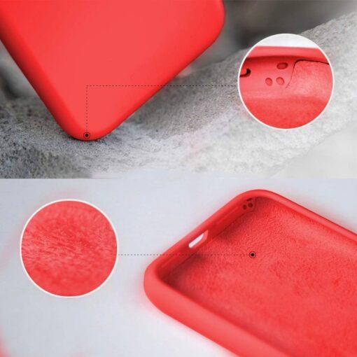 iPhone XR ümbris silikoonist punane 2