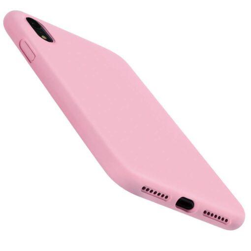 iPhone XR ümbris silikoonist roosa 3
