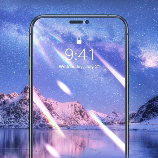 iPhone XR kaitseklaas 3D ekraanikaitse Baseus paigaldusraamiga 10