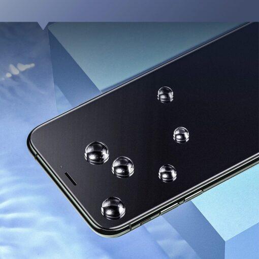 iPhone XR kaitseklaas 3D ekraanikaitse Baseus paigaldusraamiga 12