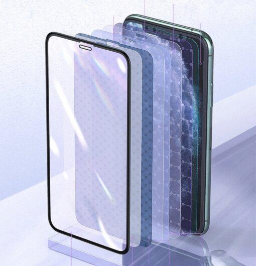 iPhone XR kaitseklaas 3D ekraanikaitse Baseus paigaldusraamiga 13