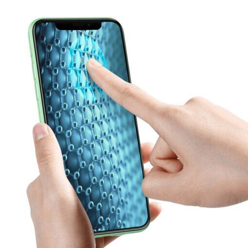 iPhone XR kaitseklaas 3D ekraanikaitse Baseus paigaldusraamiga 3
