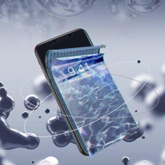 iPhone XR kaitseklaas 3D ekraanikaitse Baseus paigaldusraamiga 7