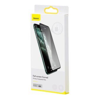 iPhone XR kaitseklaas privaatsusfiltriga täisekraan 15