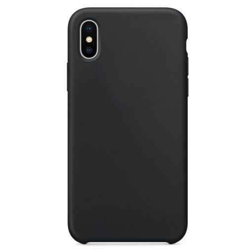 iPhone XS ümbris silikoonist must 1