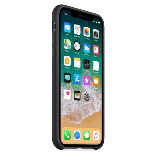 iPhone XS ümbris silikoonist must 3