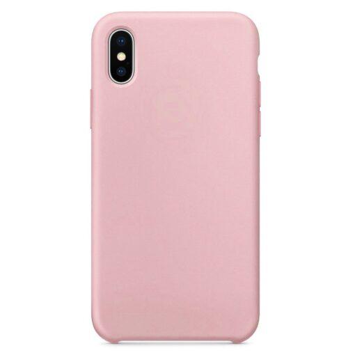 iPhone XS ümbris silikoonist roosa 2