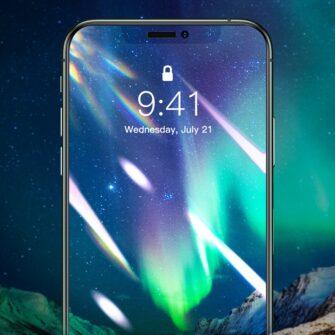 iPhone XS X kaitseklaas privaatsusfiltriga täisekraan 10