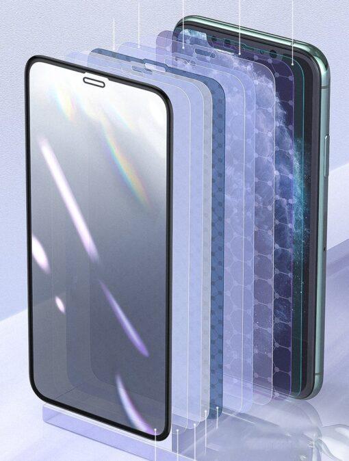 iPhone XS X kaitseklaas privaatsusfiltriga täisekraan 11