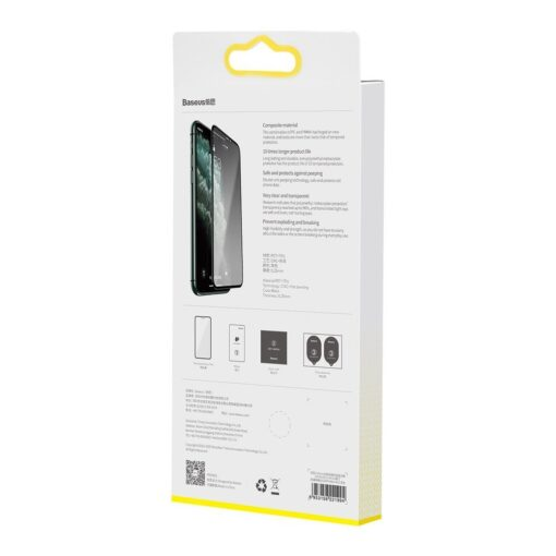 iPhone XS X kaitseklaas privaatsusfiltriga täisekraan 15