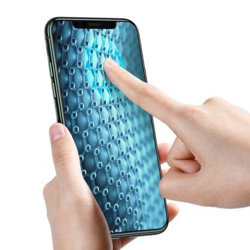 iPhone XS X kaitseklaas privaatsusfiltriga täisekraan 3
