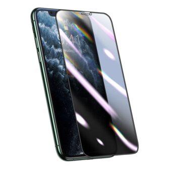 iPhone XS X kaitseklaas privaatsusfiltriga täisekraan