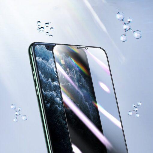 iPhone XS X kaitseklaas privaatsusfiltriga täisekraan 7
