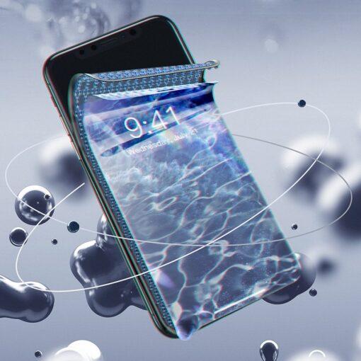 iPhone XS X kaitseklaas privaatsusfiltriga täisekraan 9